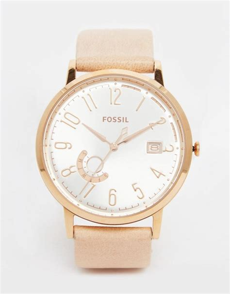 Fossil Vintage Muse Es3994 Navysilver montre vintage muse fossil