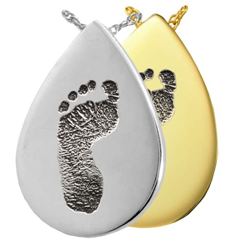 wholesale fingerprint jewelry b b teardrop footprint jewelry