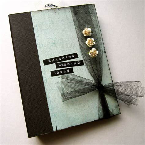 Guest Book Organizer Wedding by Wedding Memory Book Smash Book Planner Organizer Binder