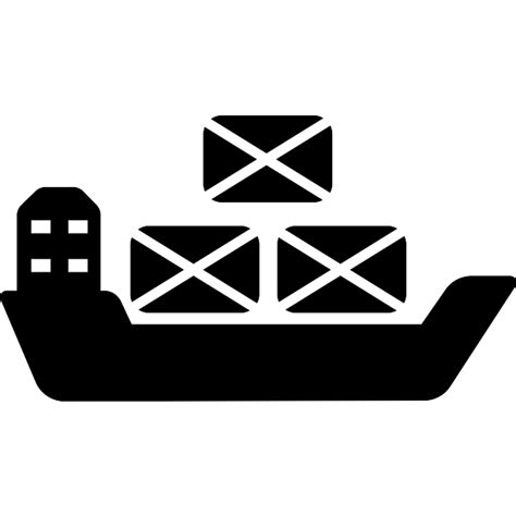 Container hanging of a crane - Free transport icons