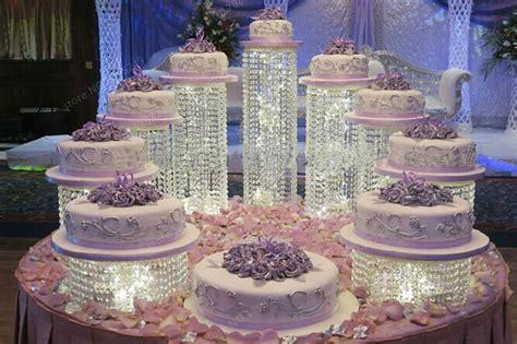 wedding crystal transparent acrylic cake stand wedding