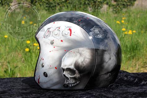 helm design studio airbrush bloody skull design helm neuigkeiten helme