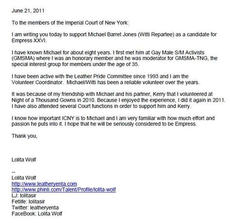 Support Letter Collaboration Letters Of Support Witti Repartee Community C And