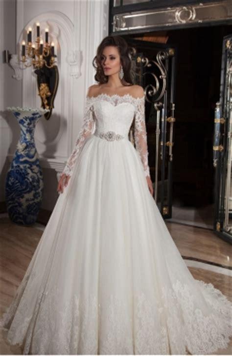 ver imagenes de vestidos de novia con manga verila vestido de novia de invierno con escote a hombros