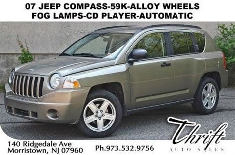 Jeep Compass 07 Buy Used 07 Jeep Compass 59k Alloy Wheels Fog Ls Cd