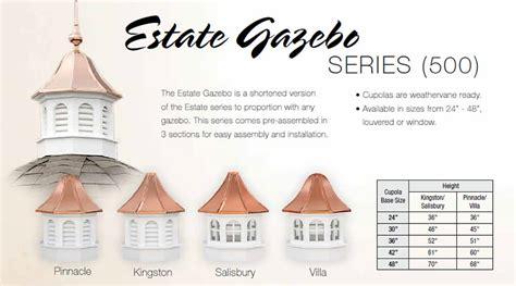 East Coast Cupolas Gazebo Series Cupolas By The East Coast Weathervane And