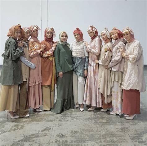Gempita Tunik Dress ria miranda melantai di panggung modest fashion singapura