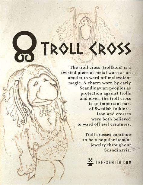 define ward off the pixel smith the troll cross trollkors is a twisted