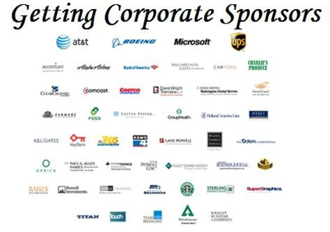 for event sponsorship fundraising event tips getting corporate sponsors money