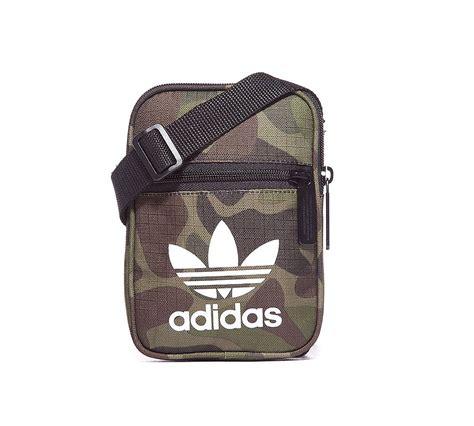 Get Festival Ready With The Mini Purse by Adidas Originals Festival Bag Khaki Camo Footasylum