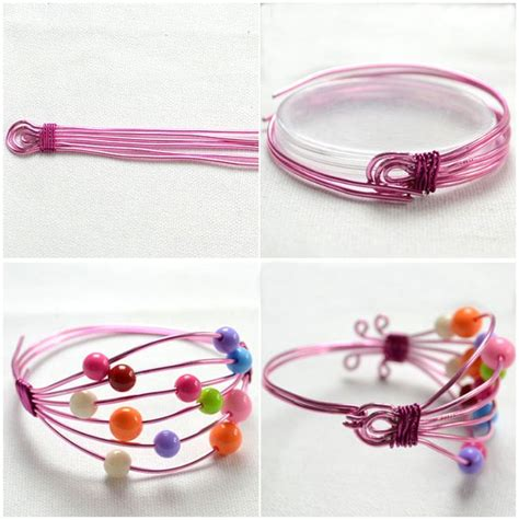 wire jewelry ideas to make 248 best wire wrapped bracelets images on