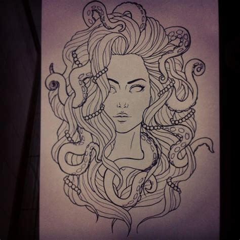 tattoo illustration pinterest tumblr octopus drawing google search art inspo