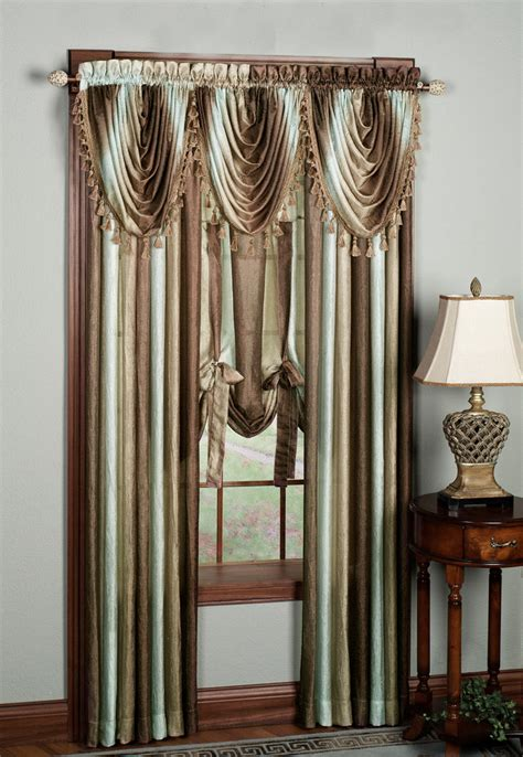 ombre sheer curtains ombre sheer curtains sandstone achim contemporary