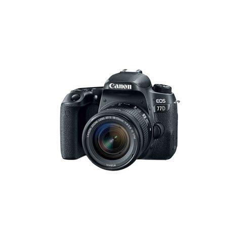 Kamera Canon Dslr 18 55mm canon eos 77d dslr with 18 55mm lens