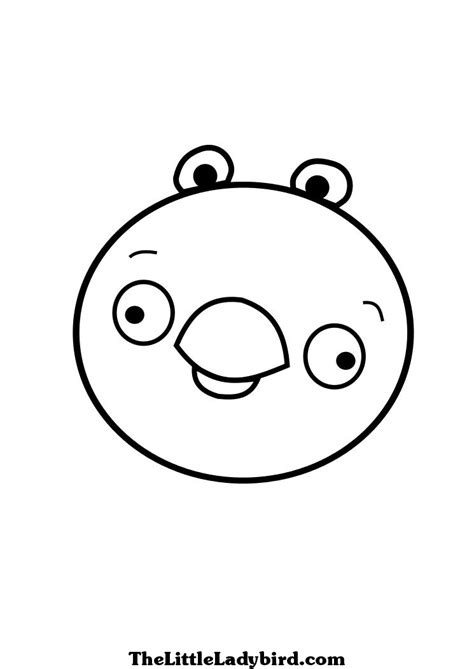 coloring pages of angry birds pigs angry birds pigs coloring pages
