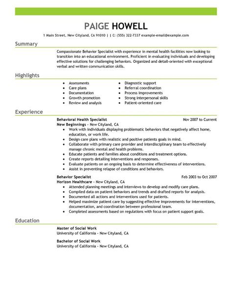 resume formatting services human services resume template sle resume cover