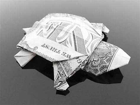 Turtle Dollar Origami - gorgeous dollar bill origami 35 pics