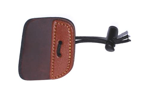 spigarelli cordovan finger tab from merlin archery ltd