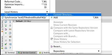 tutorial git cola c 243 mo usar git en android studio
