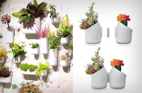 Urbio Wall Planter by Vertical Magnetic Garden By Urbio