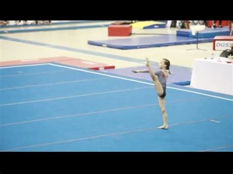 gymnastics level 3 floor routine 2018