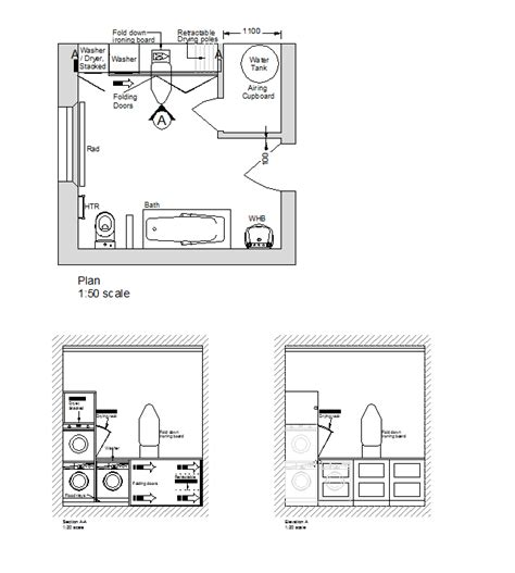 2d layout 2d cad laundry room design layout cadblocksfree cad