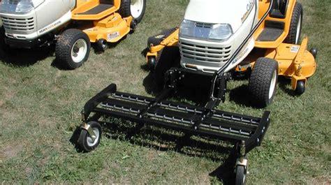 Landscape Rake Lawn Mower Tow Dethatcher 60 Inch The Jrco Tine Rake