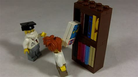 how to build lego bookshelf