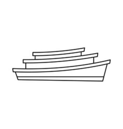 houseboat outline backwater vector images 70