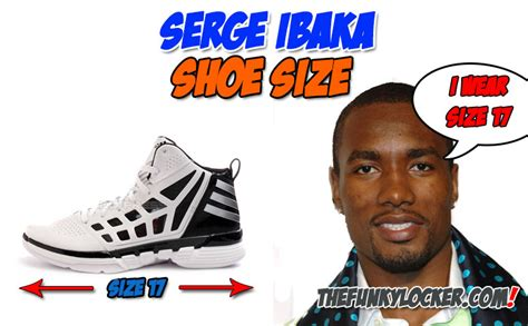 kevin durant shoe size serge ibaka shoe size find out what size sneakers ibaka