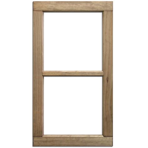 glass on wood salvaged 2 pane wood window by bci crafts
