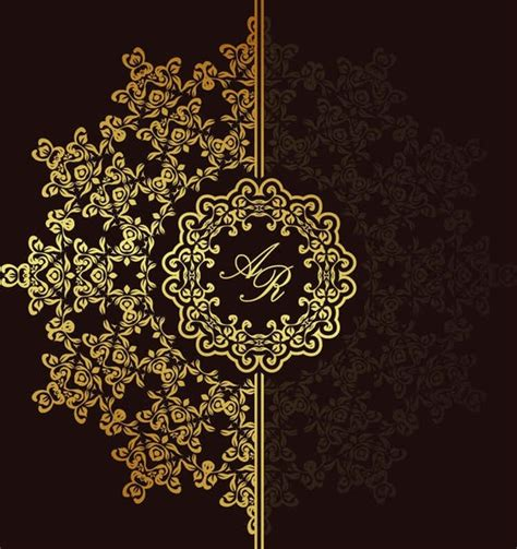 european gold pattern vector background001 free vector download 15 free vector for