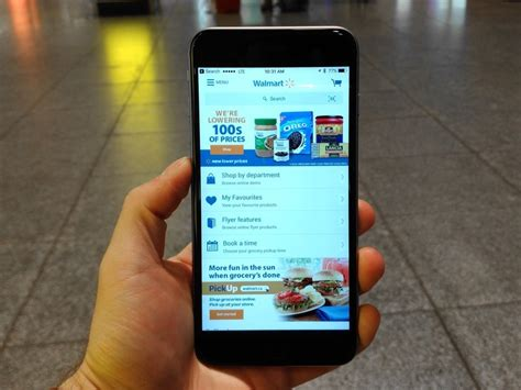 walmart launches   shopping app  canadian
