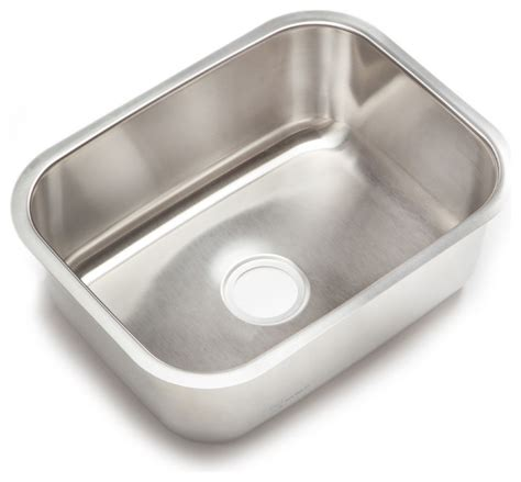 Clark Kitchen Sinks Stainless Steel Clark Stainless Steel Large Single Bowl Undermount Kitchen Sink Traditional Kitchen Sinks