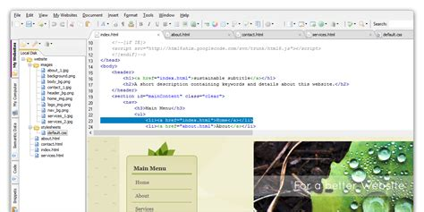 section html5 exle coffeecup html editor 14 1 build 741 full version super