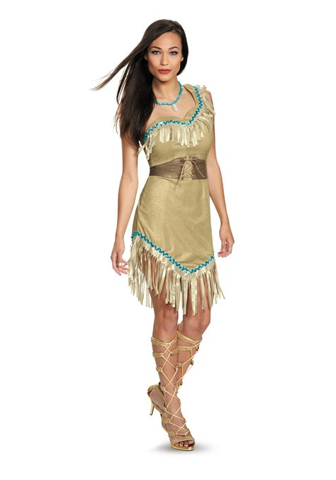 Naura Dress Original By Emmaqueen womens deluxe pocahontas costume