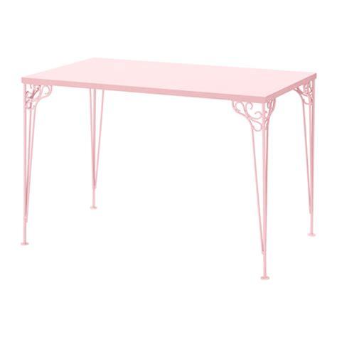 pink desk falkh 214 jden desk pink 110x65 cm ikea