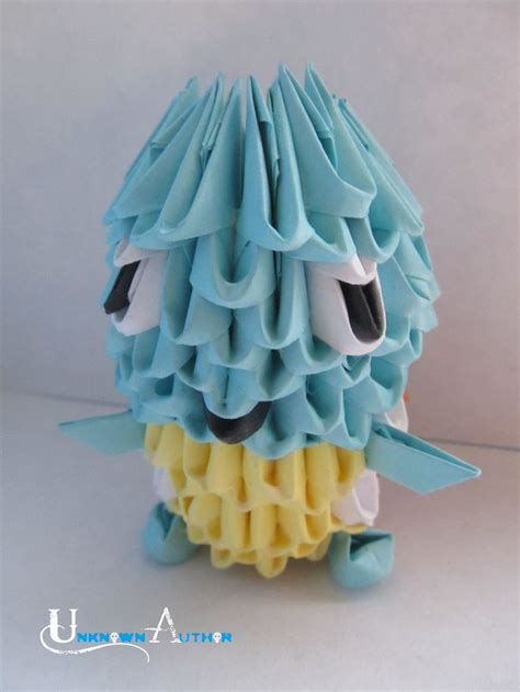 3d Origami Squirtle - 17 best images about 3d origami on pikachu