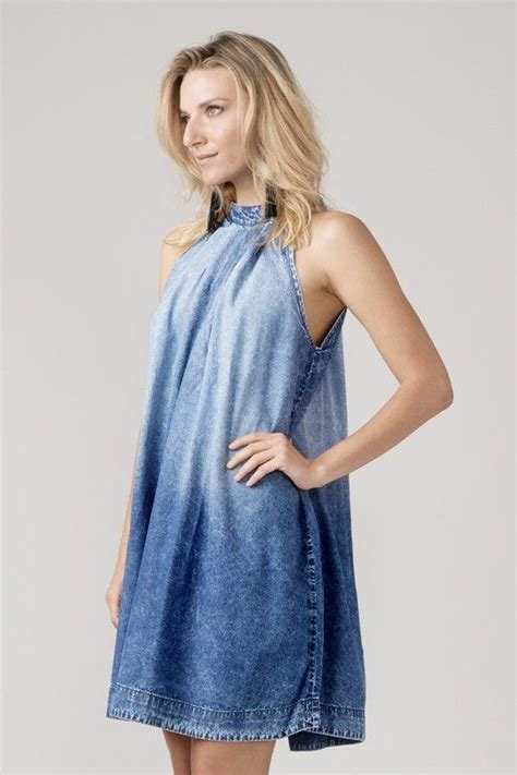 Dress Denim Onde by Vestido Iii Sonar Vestidosss Jean