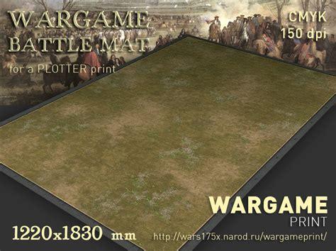 Battle Mats by Battle Mat 011 Grass Plain Wargameprint Battlemats