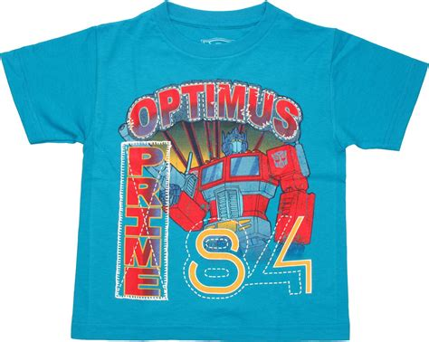 Sandal Print Transformer Optimus Prime transformers optimus 84 juvenile t shirt