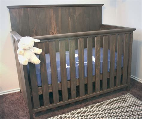 How To Build A Baby Crib How To Build A Crib For 200 On House And Home