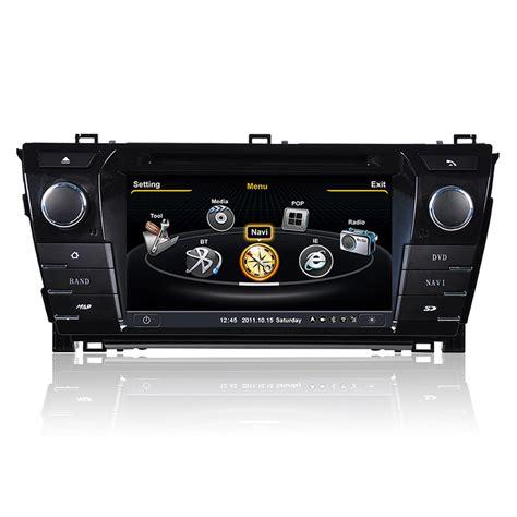 Toyota Corolla 2014 Radio Ql Crl737 For 2014 Toyota Corolla Oem Auto Dvd Gps