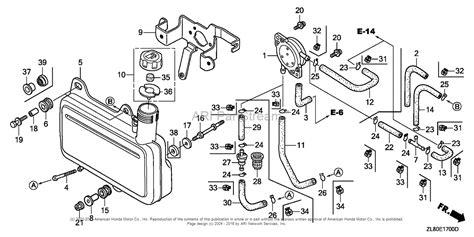 honda gc160 parts diagram honda engines gc160 qhaj engine jpn vin gcah 1000001 to