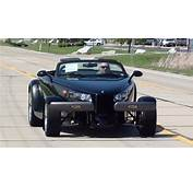 Test Drive  1999 Plymouth Prowler And Matching Trailer