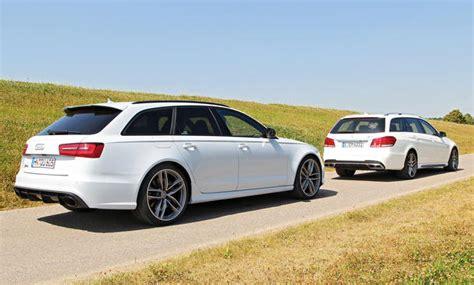 Bmw 335i Technische Daten by Audi Rs 6 Avant Gegen Mercedes E 63 Amg T Modell 2013