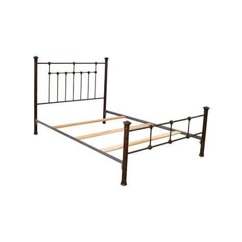 queen iron bed frame 85 off pottery barn pottery barn queen iron bed frame