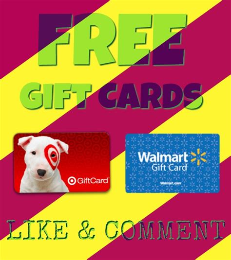 Walmart Gift Card Giveaway 2017 - giveaway walmart target gift cards winners announced