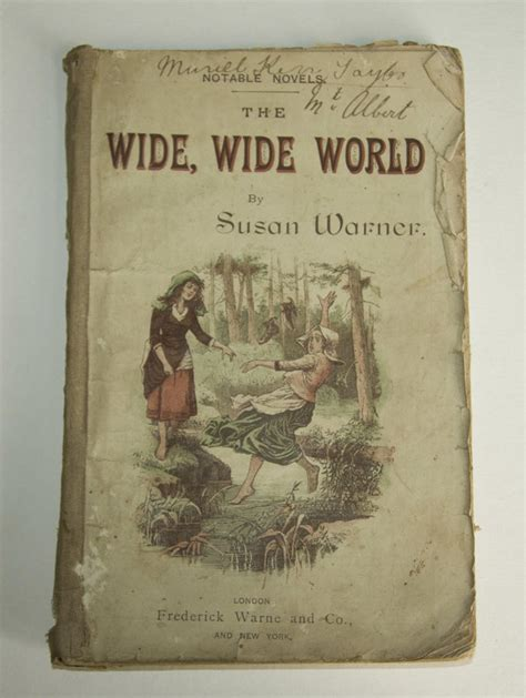 The Wide Wide World book the wide wide world susan warner 1819 1885