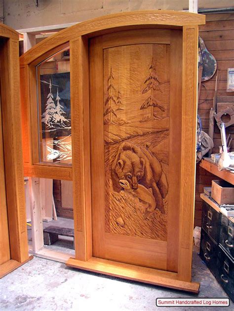 Log Home Front Doors Rustic Log Cabin Exterior Doors Images Country Cabins Wood Doors Doors